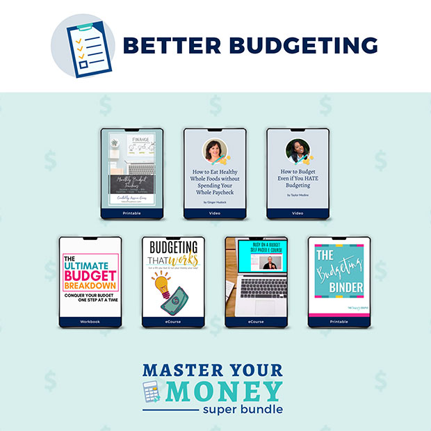 Master Your Money Super Bundle - Better Budgeting