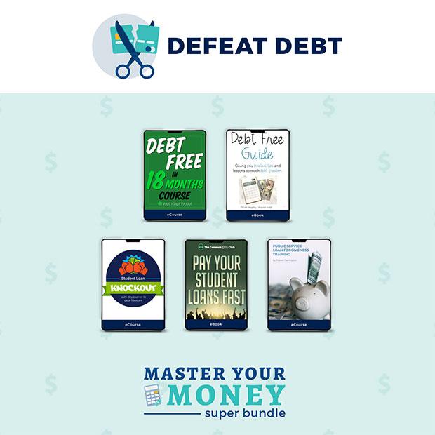 Master Your Money Super Bundle - Defeat Debt