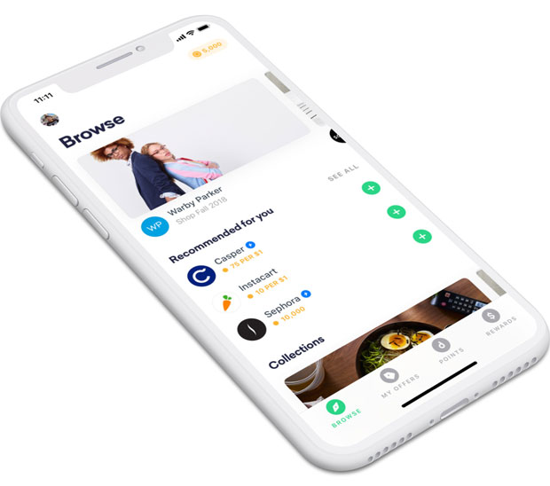 Drop App Review - App Home Screenshot