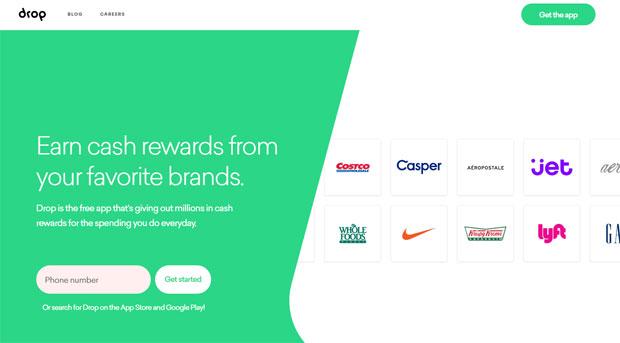Drop App Review - Sign Up