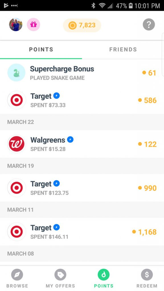 Drop App Review - Earn Points