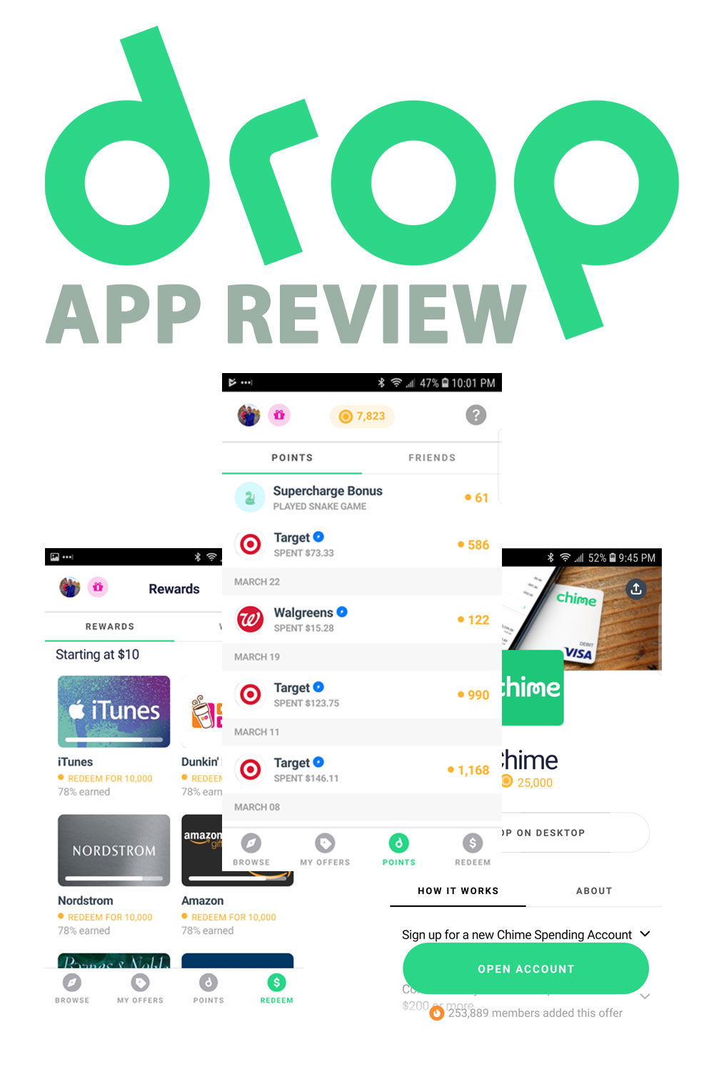 Drop is a free app that gives you cash rewards for the spending that you\'re already doing anyway. Here\'s how to use the app, and how you can earn cash back.