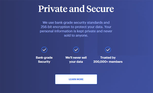 Status Money Review - Privacy and security