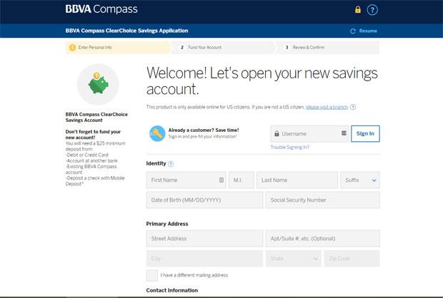 BBVA Compass Bank Review - Otvorite račun