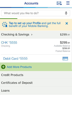 BBVA Compass Bank Review - Mobile App