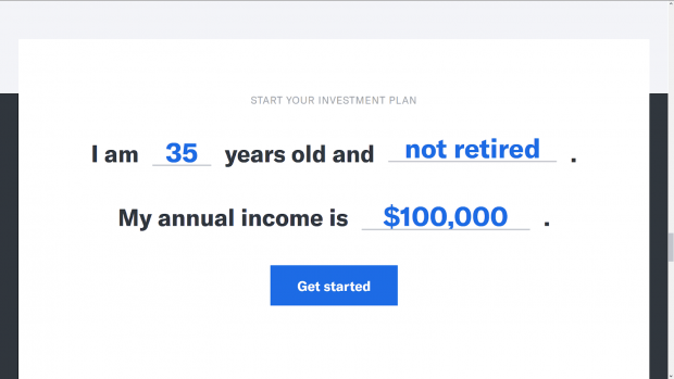 Betterment Review - Signing Up For Betterment