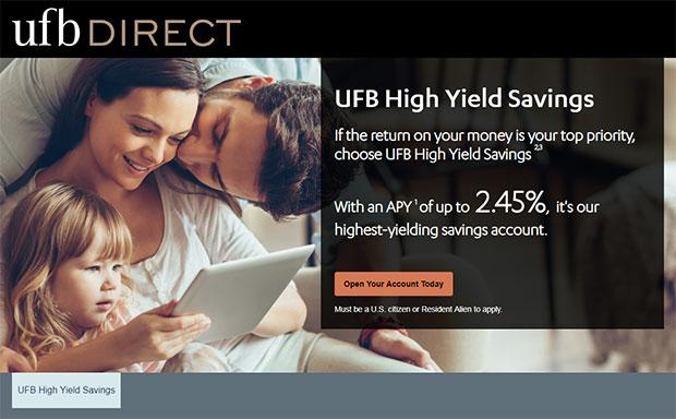 UFB Direct High Yield Savings