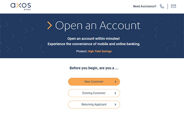 Axos Bank Review - Open An Account