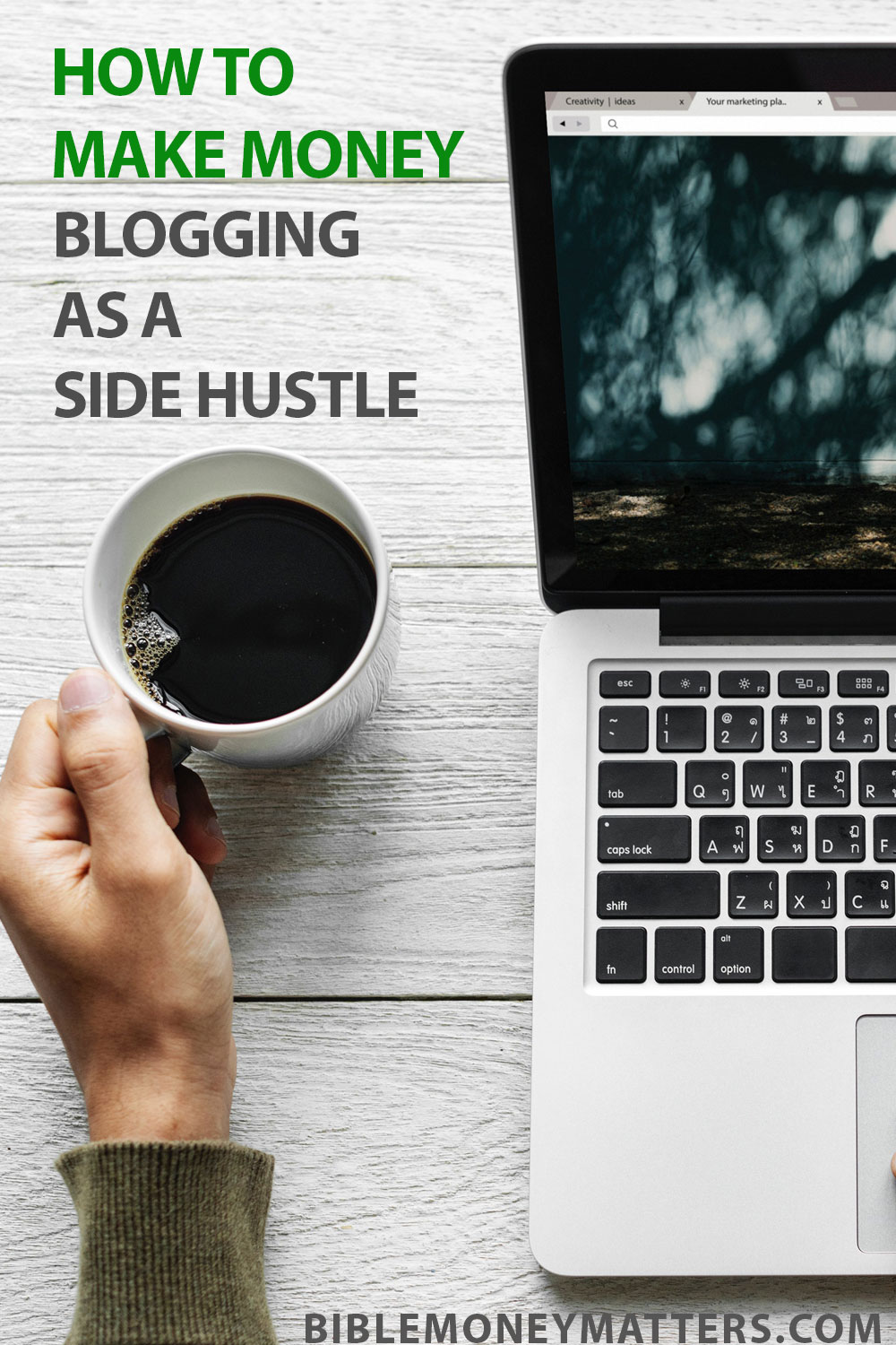 Making money with a blogging side hustle takes a lot of work and dedication, but there is a significant upside for those who do it. Here\'s where to start.