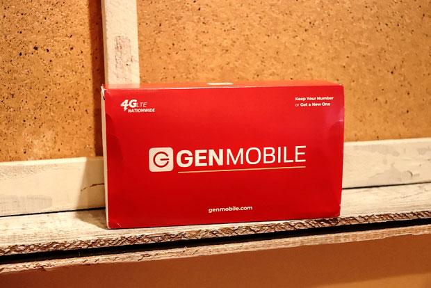 Gen Mobile Samsung Galaxy S9 škatla z rokavom