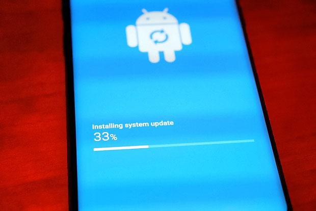 Gen Mobile Samsung Galaxy S9 - Installing system update