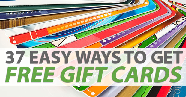 easy ways to get free gift cards