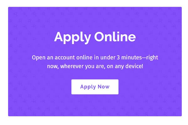 Apply Online In Under 3 Minutes