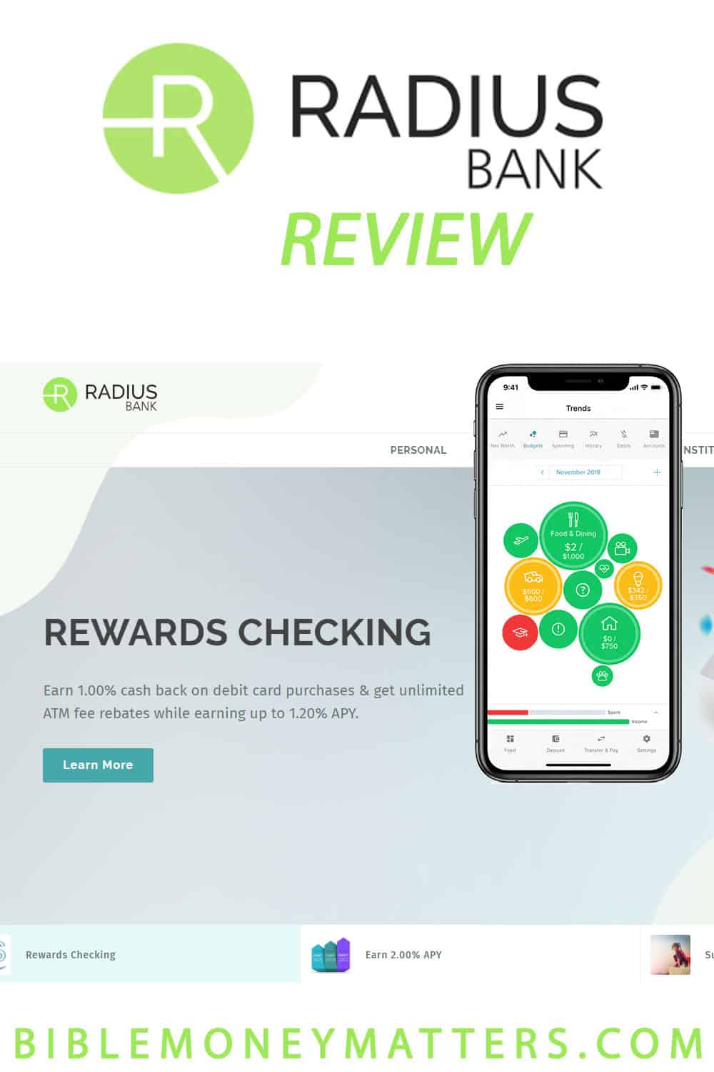 Radius Bank Review: Free Cash Back Rewards Checking