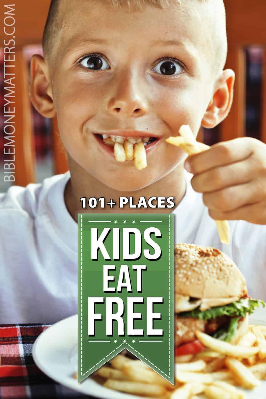 101+ Restaurants Where Kids Eat Free