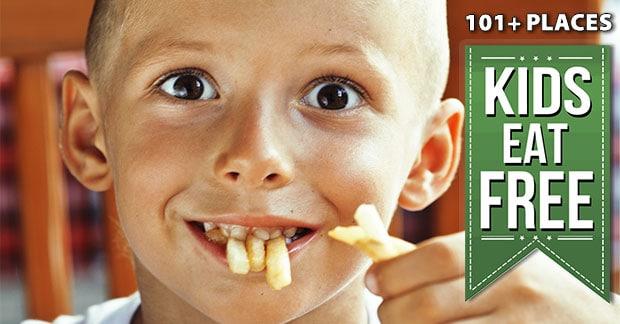 kids eat free restaurants list