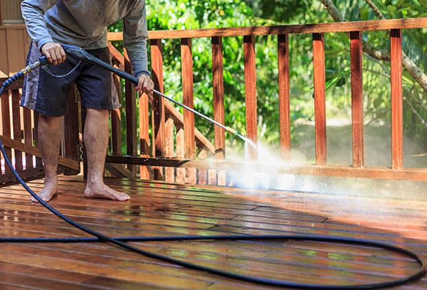 pressure washing as a side hustle