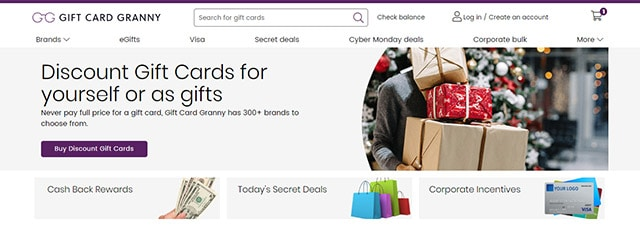 Sell your gift cards to GiftCardGranny