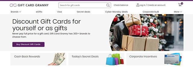 Prodajte svoje poklon kartice na GiftCardGranny