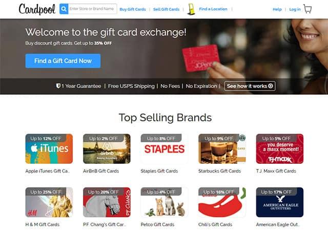 Prodajte svoje poklon kartice CardPool