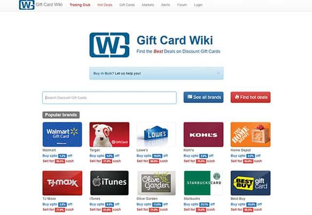 Gift Card Wiki