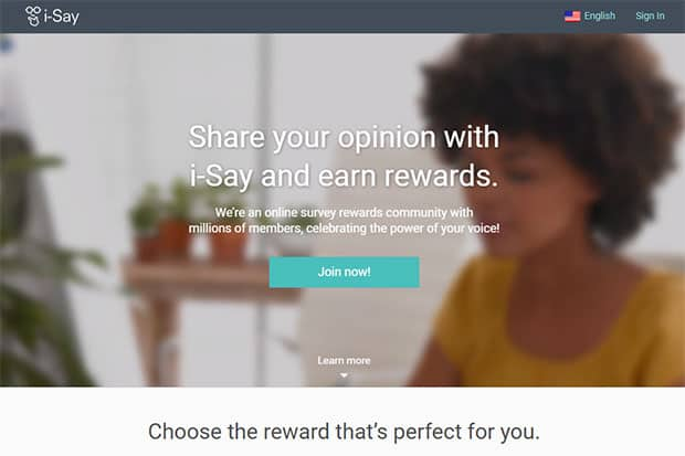 i-Say Rewards - free Walmart gift cards
