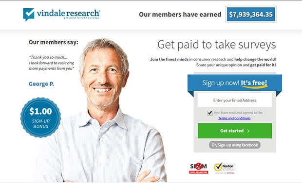 Vindale Research - get free gift cards