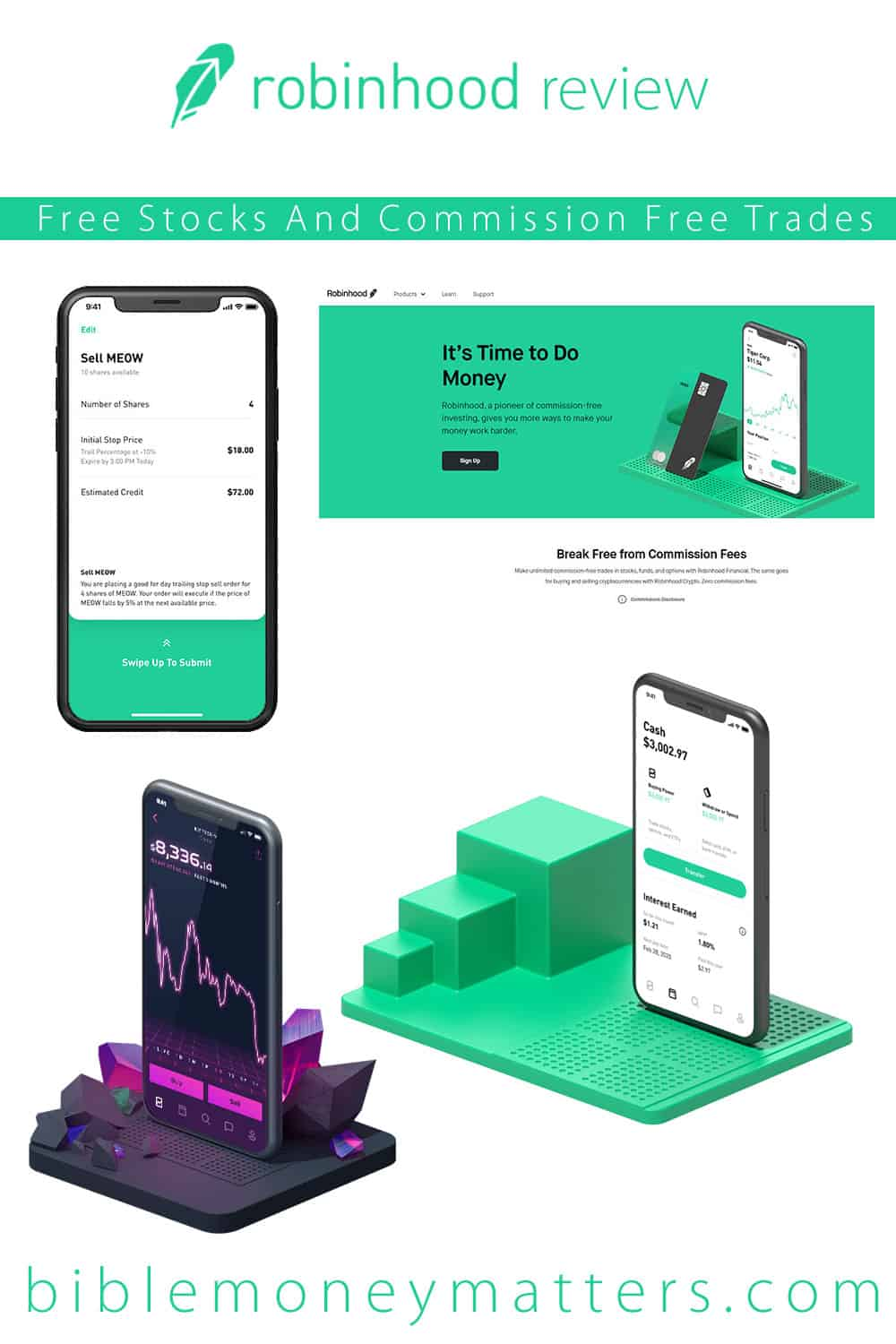 Robinhood Review: Get Free Stock And Commission Free Trades