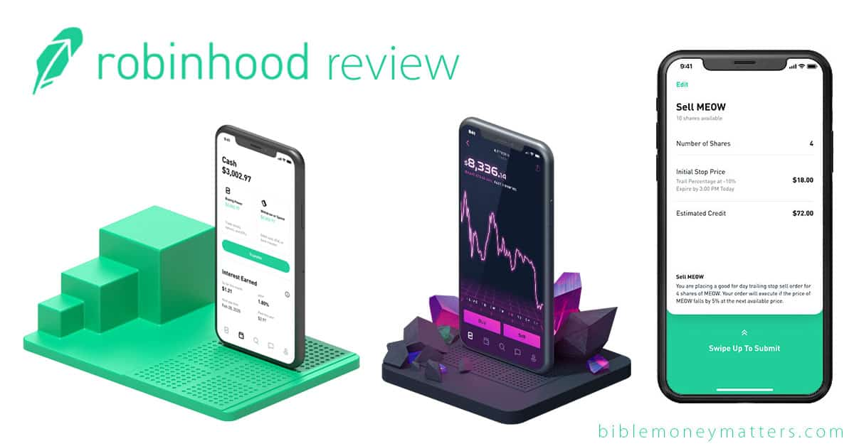 Robinhood  Commission-Free Investing Coupon Code Cyber Monday July 2020