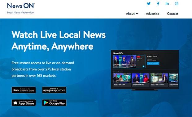 Watch free tv news on NewsON