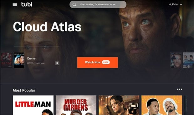 Free Streaming Movies - TubiTV