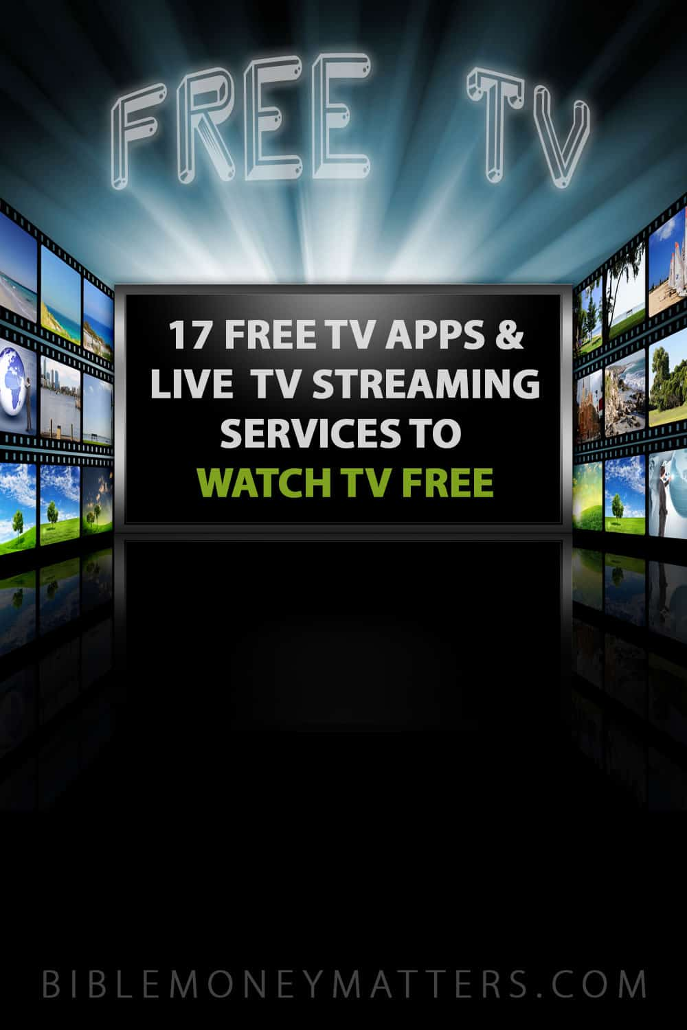 Here are 17 different apps, websites and live streaming services that allow you to watch TV free. Cut the cord and watch free movies and TV shows today!