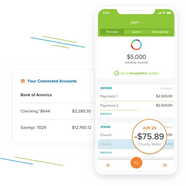 EveryDollar Review - Use App To Monitor Spending