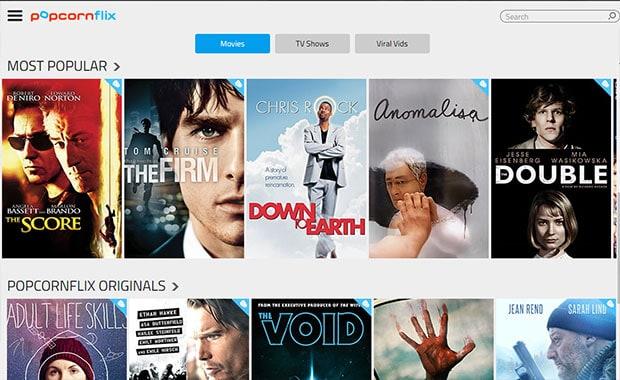 Filmes em streaming gratuitos - Popcornflix