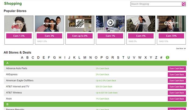 InboxDollars Cash Back Shopping Portal