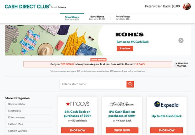 apps that pay you money - Cash Direct Club