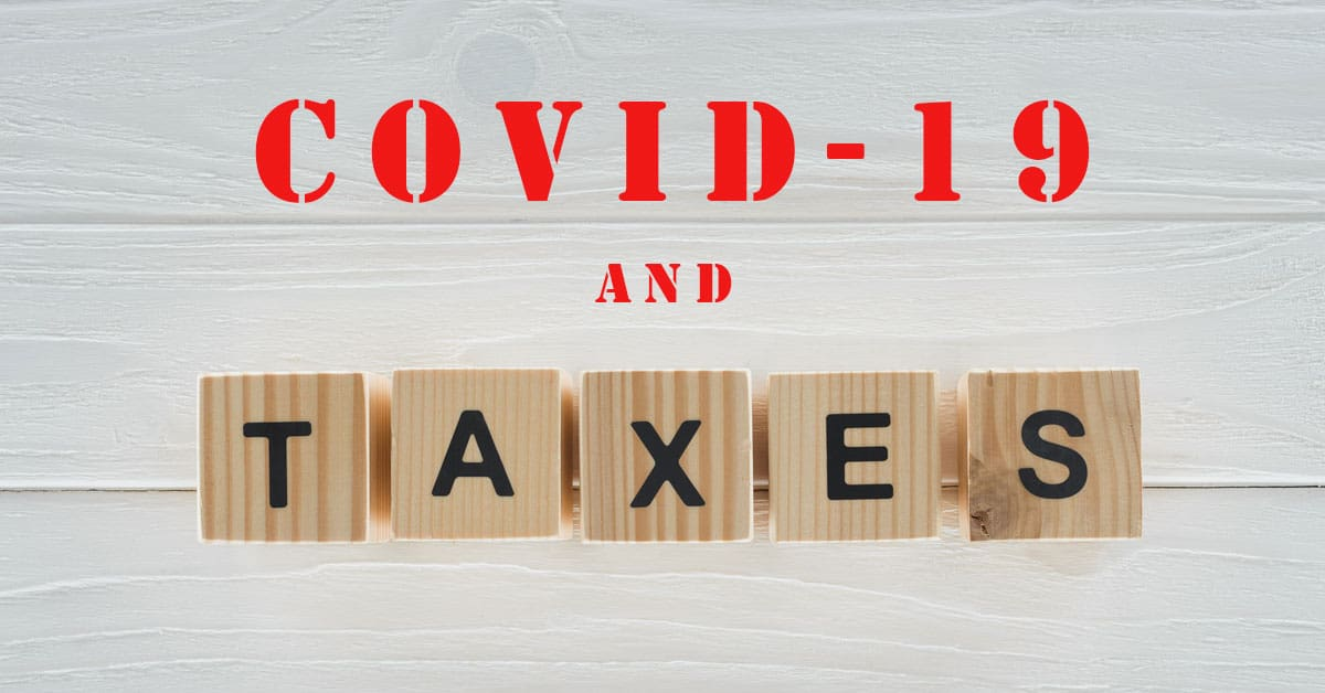 tax impact of covid-19 stimulus checks and unemployment benefits