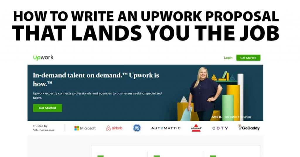 how to write an upwork proposal