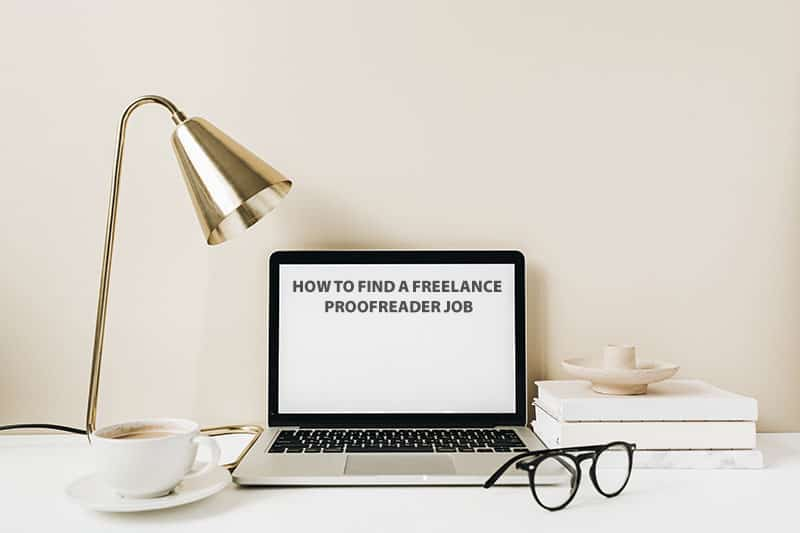 how to find a freelance proofreader job