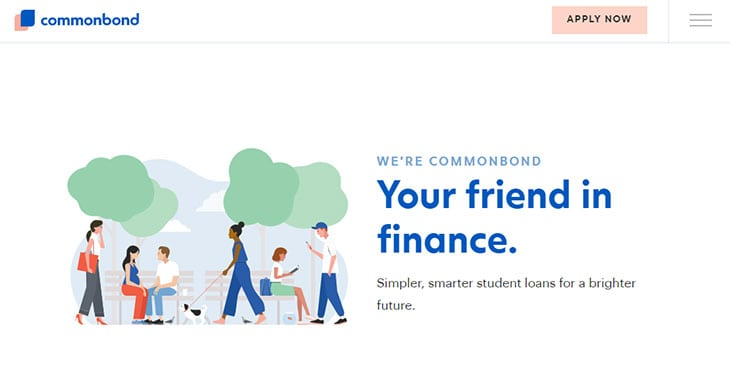 CommonBond Review - Website Homepage