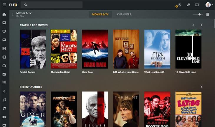 Streaming de filme gratuito - Plex