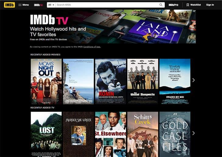 Streaming de filmes gratuitos - IMDb TV
