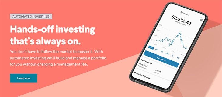 SoFi Invest Investimento automatizado