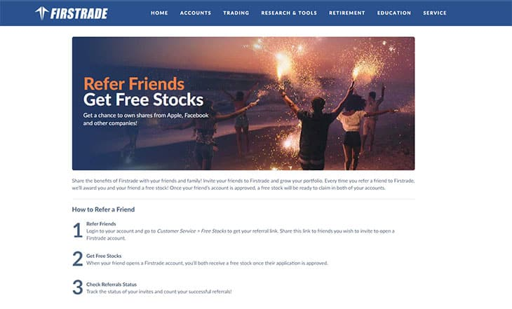 Firstrade free stock promotion