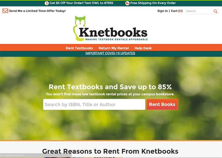 Knetbooks for cheap textbooks