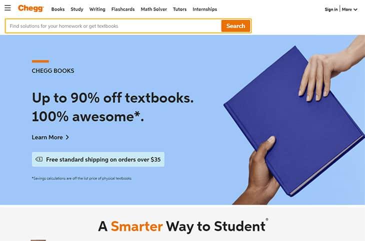 Chegg Textbook Rentals
