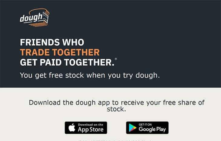 Dough brokerage - free stock