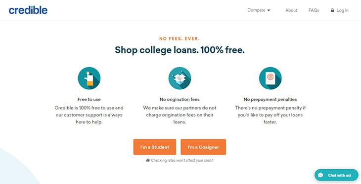 Credible Student Loans
