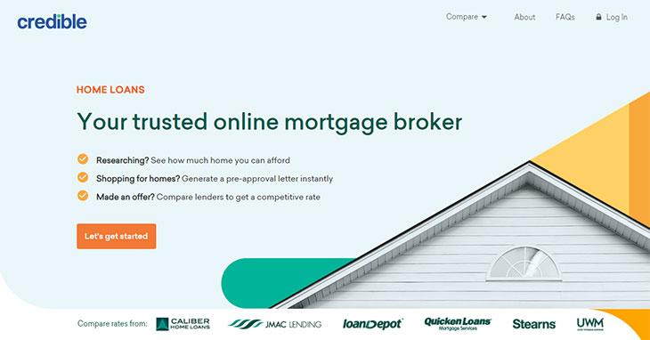 Credible Mortgage Loans And Refinancing