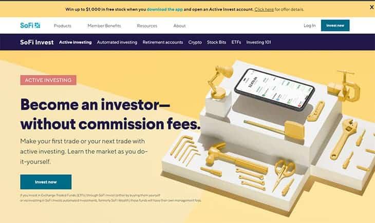 SoFi Invest - Get Free Stock